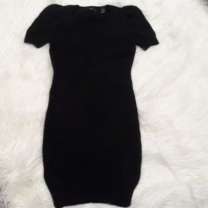 NWOT MODA INTERNATINAL ANGORA & NYLON DRESS